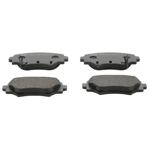Фото - Дисковые тормозные колодки задние Ferodo FDB4700 для Mazda 3 (4 шт.) дисковые тормозные колодки передние ferodo fdb4446 для mazda 3 mazda cx 3 4 шт