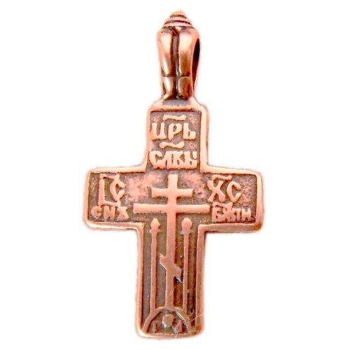 Мастерская Алёшиных Крест Царь славы №1, медь