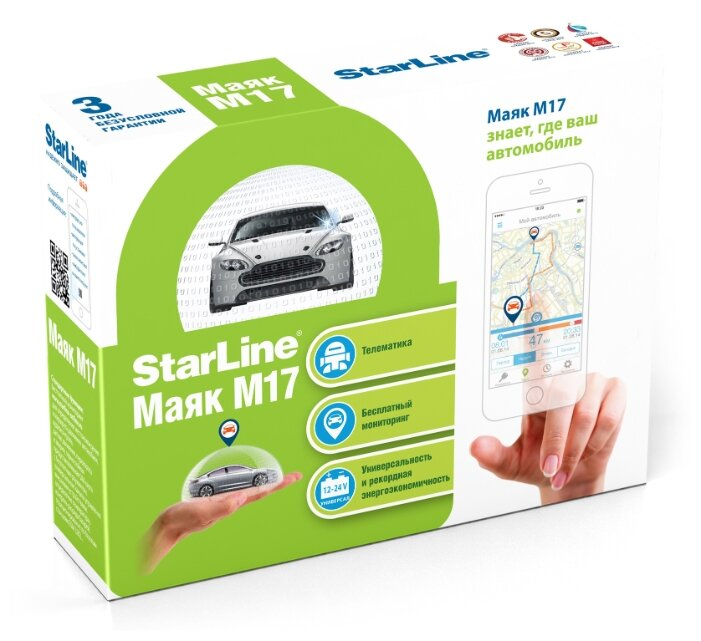 GPS-трекер StarLine M17
