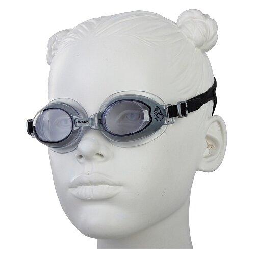 Очки для плавания Larsen DR15 черный
