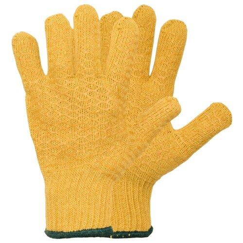 Перчатки NEWTON per6 2 шт. желтый перчатки newton per 2 10 3 3 х ниточные с пвх точка