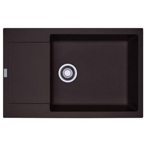 Врезная кухонная мойка 78 см FRANKE MRG 611D шоколад