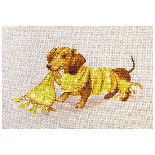 Фото - Luca-S Набор для вышивания Такса, 27 х 17.5 см, B1123 набор для вышивания luca s b548 клёвое место
