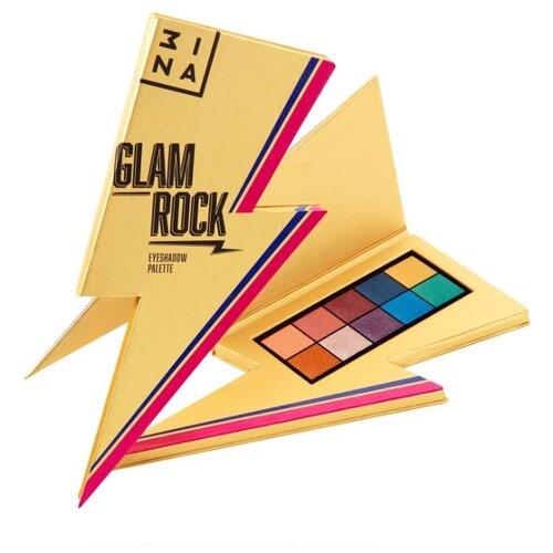 3INA Палетка теней Glam Rock 3ina карандаш для губ с аппликатором 3ina 513