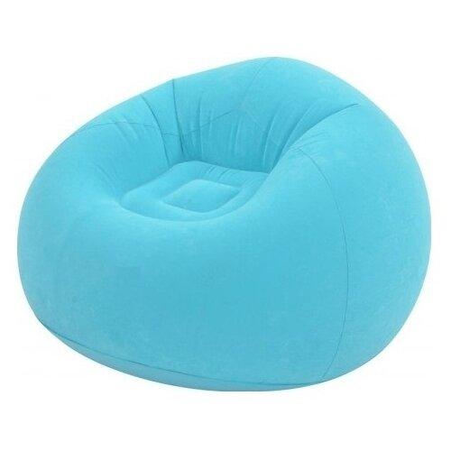 Надувное кресло Jilong Lazy Sofa 27499 голубой