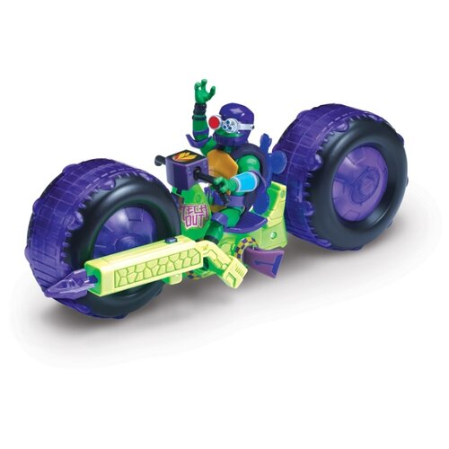 цена на Фигурка Playmates TOYS Rise of the Teenage Mutant Ninja Turtles: Мотоцикл с фигуркой Донни 82482