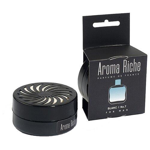 Автолидер Ароматизатор для автомобиля, Aroma Riche мужской, Blanc №7 50 г