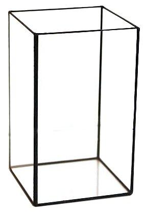 Ваза Арт-Птица 3-021-1, прозрачный