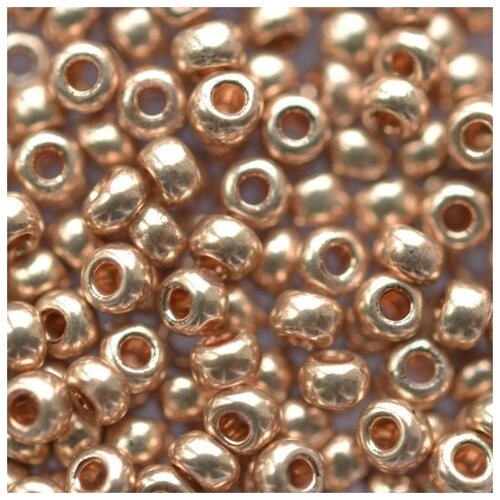 Купить Бисер Preciosa , 10/0, 500 грамм, цвет: 18112 светло-медный, Фурнитура для украшений