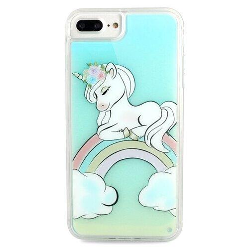 Чехол Pastila Neon Case для Apple iPhone 6 Plus/iPhone 7 Plus/iPhone 8 Plus Единорог чехол pastila charm для apple iphone 6 plus iphone 7 plus iphone 8 plus бэби