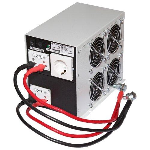 Инвертор СибКонтакт ИС-24-3000 DC-AC серый