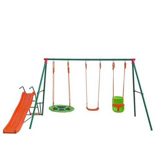 Купить Спортивно-игровой комплекс DFC SBN-03 оранжевый/зеленый, Игровые и спортивные комплексы и горки