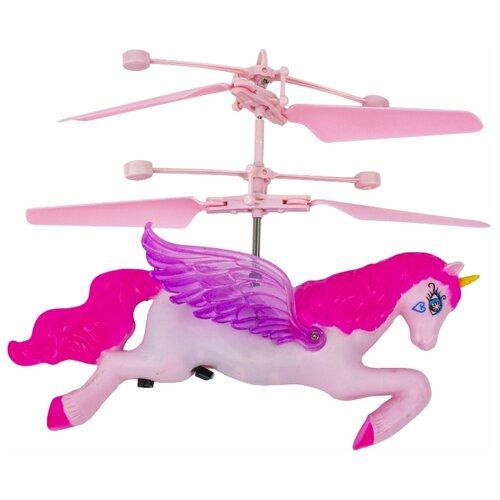 Купить Робот 1 TOY Gyro Unicorn розовый/фиолетовый, Роботы и трансформеры