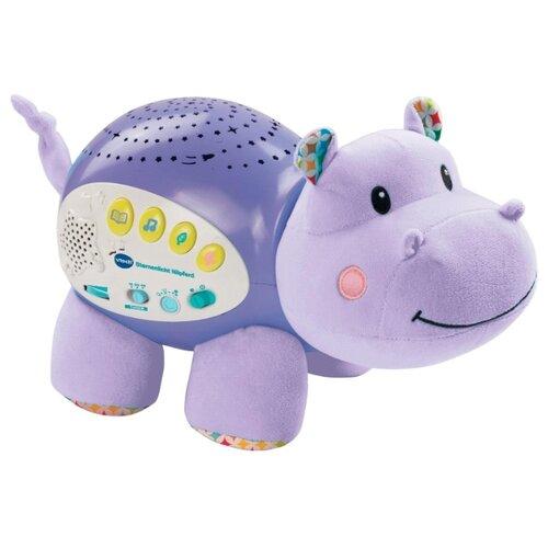 Купить Интерактивная развивающая игрушка VTech Музыкальный проектор звездного неба Vtech «Бегемот» (80-180926) фиолетовый, Развивающие игрушки