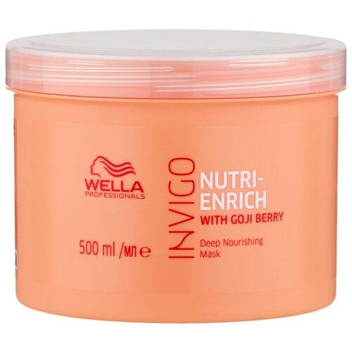Wella Professionals INVIGO NUTRI-ENRICH Питательная маска-уход для волос, 500 мл wella professionals enrich bouncy foam