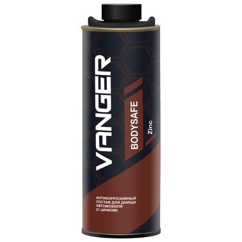 Антикор VANGER Bodysafe Zinc 1 л банка бронзовый