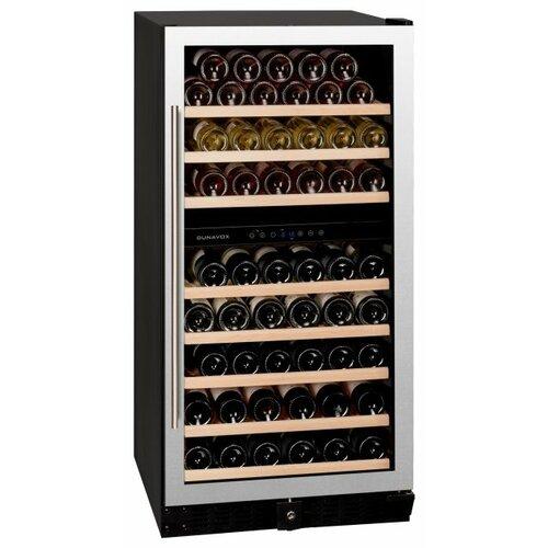 Встраиваемый винный шкаф Dunavox DX-94.270SDSK встраиваемый винный шкаф dunavox dx 166 428dbk