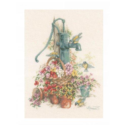 Купить Lanarte Набор для вышивания Колонка в цветах 29 х 39 см (PN-0007958), Наборы для вышивания