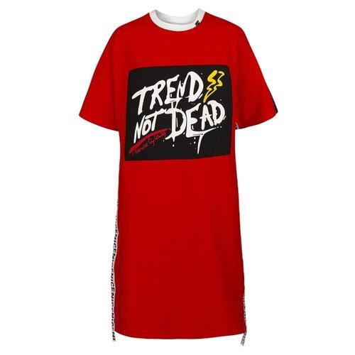 Платье Nota Bene размер 170, красный платье oodji ultra цвет красный белый 14001071 13 46148 4512s размер xs 42 170
