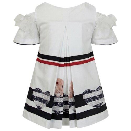 Платье Lapin House размер 98, белый