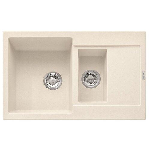 Врезная кухонная мойка 78 см FRANKE MRG 651-78 ваниль franke mrg 651 78 114 0198 351