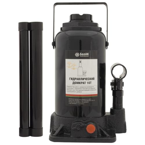 Домкрат бутылочный гидравлический БелАвтоКомплект БАК.00035 (16 т) черный домкрат бутылочный гидравлический белавтокомплект бак 10039 2 т черный