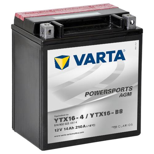 Автомобильный аккумулятор VARTA Powersports AGM (514 902 022)
