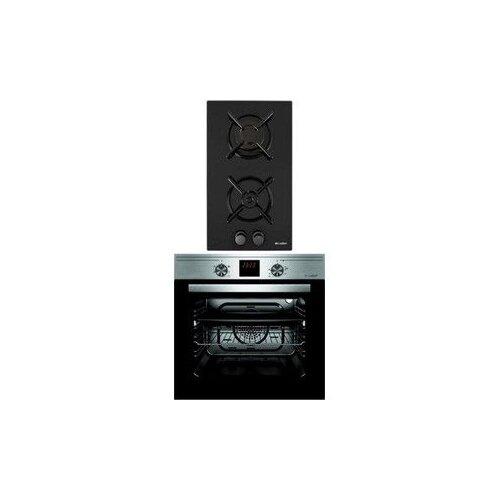 Комплект встраиваемой техники Luxdorf H30N20S450 + B6EM56050 черный/серый