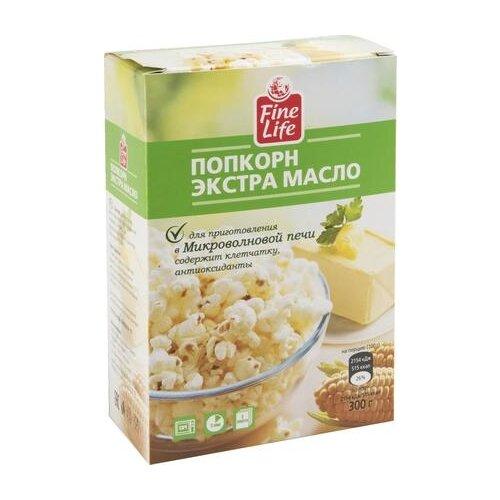 Попкорн Fine Life экстра масло в зернах, 300 г