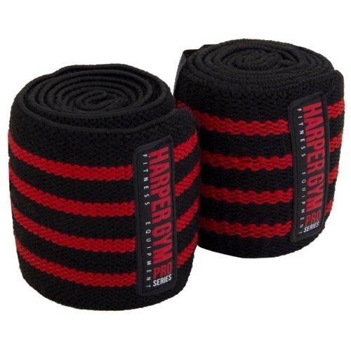 Бинт 2 шт. Harper Gym Pro Series JE-2677 черный/красный
