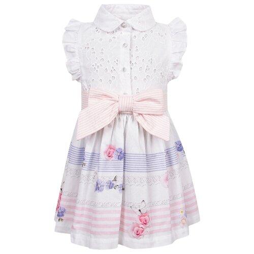Платье Lapin House размер 80, белый