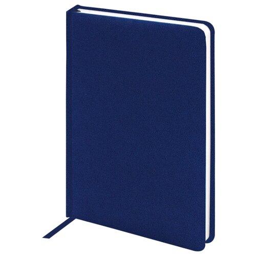 Купить Ежедневник BRAUBERG Select недатированный, А6, 160 листов, синий, Ежедневники, записные книжки