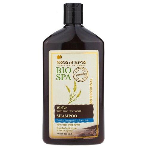 шампунь sea Sea of Spa шампунь Bio Spa для окрашенных и поврежденных волос с вытяжкой из проростков пшеницы 400 мл