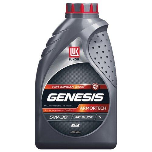 Моторное масло ЛУКОЙЛ Genesis Armortech HK 5W-30 1 л моторное масло лукойл genesis armortech fd 5w 30 4 л