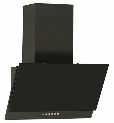 Вытяжка ELIKOR Рубин S4 60 60П-700-Э4Д, антрацит/черное стекло
