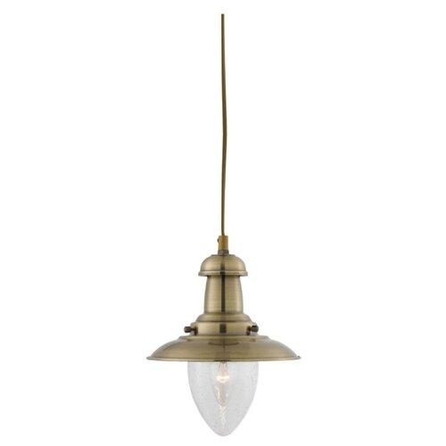 Светильник Arte Lamp Fisherman A5518SP-1AB, E27, 60 Вт бра arte lamp fisherman a5518ap 1ab