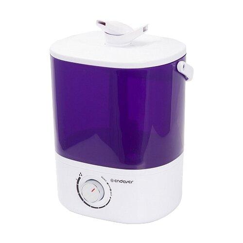 Увлажнитель воздуха ENDEVER Oasis-174, фиолетовый/белый