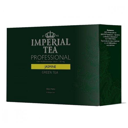 Чай зеленый Императорский чай Professional Jasmine в пакетиках для чайника , 20 шт. фото