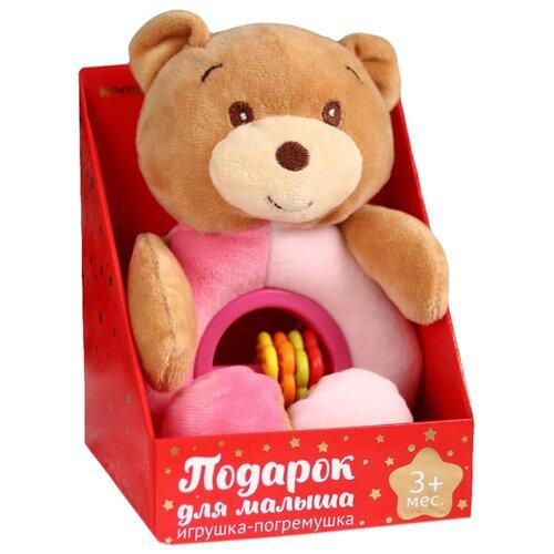 Погремушка Mum&Baby Мишка 4617292 розовый mum