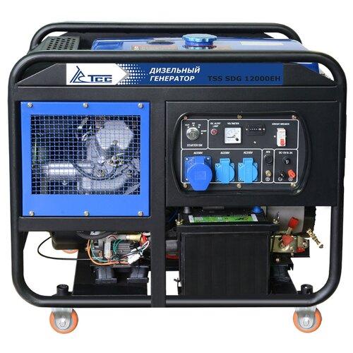 Дизельный генератор ТСС SDG-12000EH (11500 Вт)