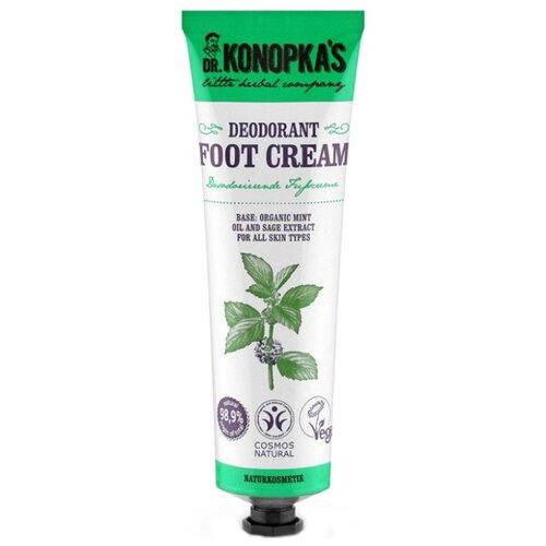 Dr. Konopka's Крем для ног дезодорирующий 75 мл туба dr konopka s крем для ног питательный 75 мл туба