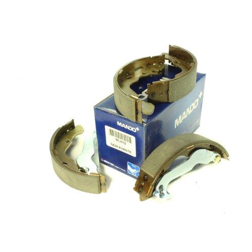 Барабанные тормозные колодки задние MANDO MLH12 для Hyundai Matrix (4 шт.) hyundai matrix расход топлива