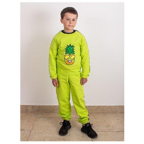 Спортивный костюм Prikinder размер 104, салатовый