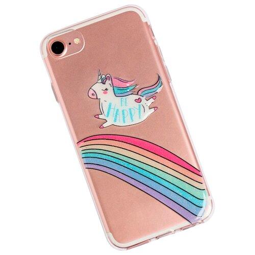 Чехол-накладка Арт Узор 3899184 для Apple iPhone 7 Be happy чехол накладка арт узор 3903713 для apple iphone 7 iphone 8 space odyssey