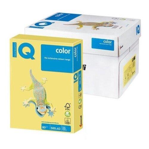 Фото - Бумага IQ Color pale А3 500 листов Лимонно-желтый ZG34 бумага цветная а4 500л iq color 80г м2 желтый zg34 1520958