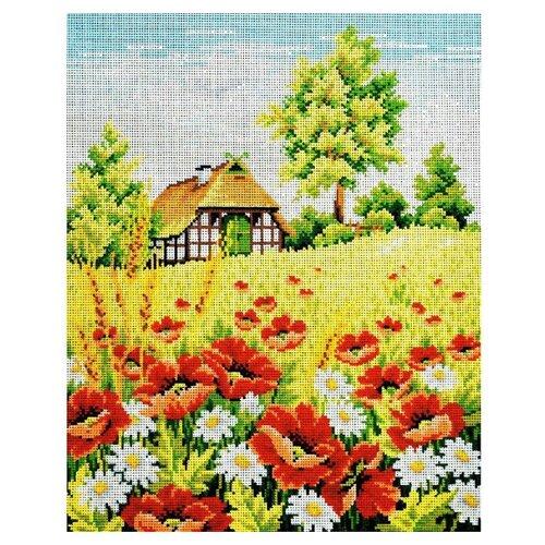 Schaefer Набор для вышивания гобелена Маковое поле 40 x 50 см (427/14) schaefer набор для вышивания 9 x 12 см 460 12