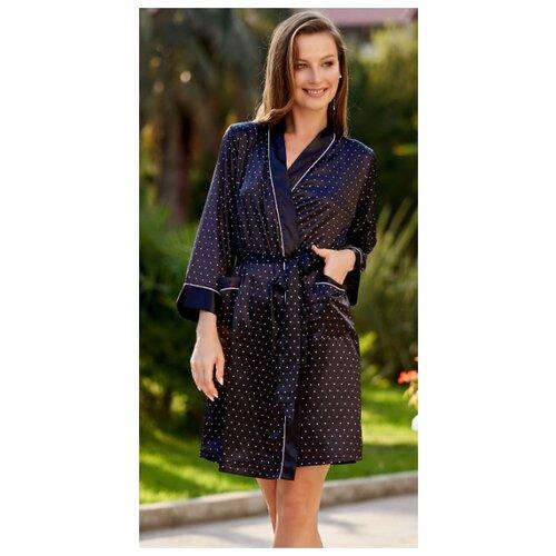 Халат MIA-AMORE размер XS черный халат домашний mia mia mia mia mp002xw1aq47
