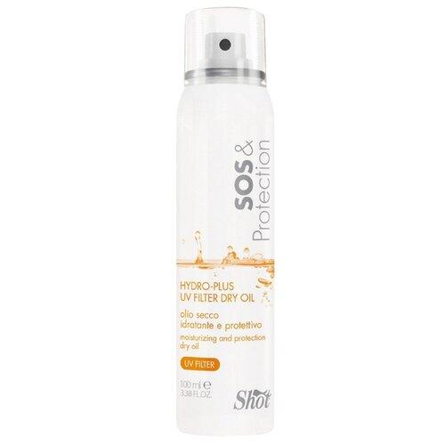 Купить Shot SOS & Protection Сухое, увлажняющее и защитное масло для волос с УФ-фильтром, 100 мл