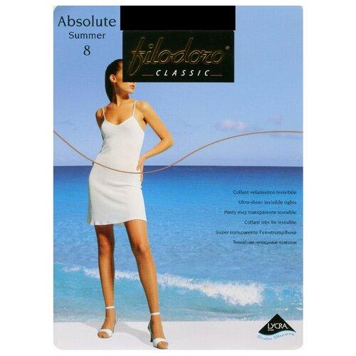 Колготки Filodoro Classic Absolute Summer 8 den, размер 4-L, glaceКолготки и чулки<br>