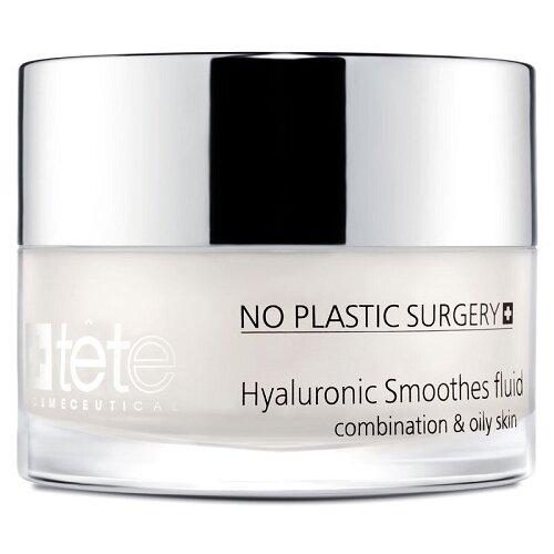 цена TETe Cosmeceutical Hyaluronic Smoothes Fluid Флюид липосомальный на основе гиалуроновой кислоты для лица, 50 мл онлайн в 2017 году